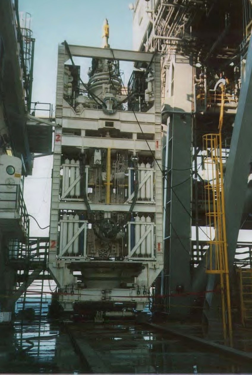 subsea blowout preventer - BOP
