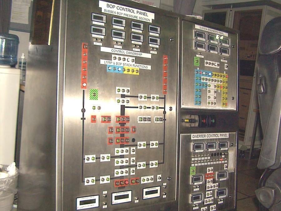 Subsea BOP control panel