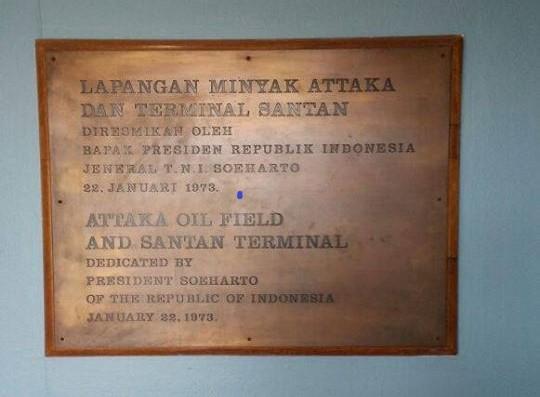 Pres. Soeharto di Santan